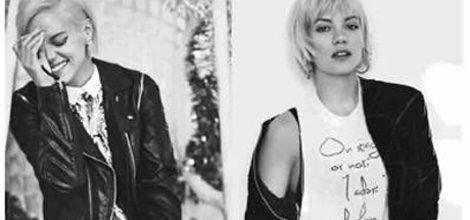 Lily Allen diseñadora y embajadora de la colección de Vero Moda 2015