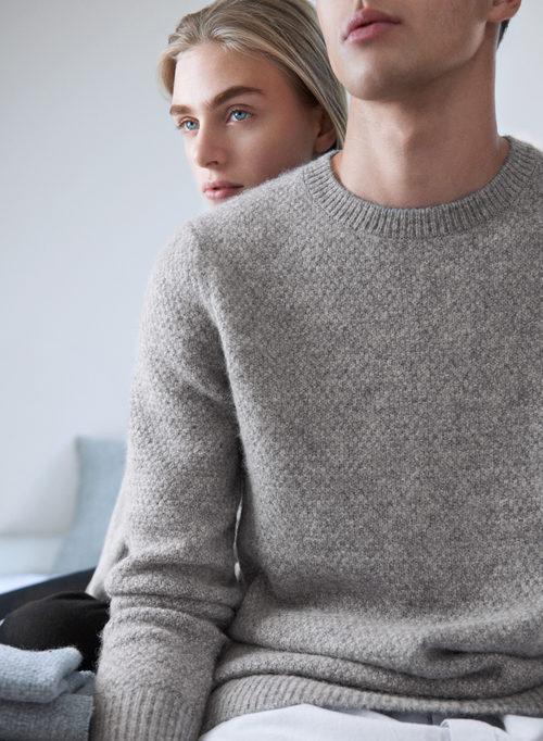 Jersey gris de punto de la línea Leisure Wear de H&M