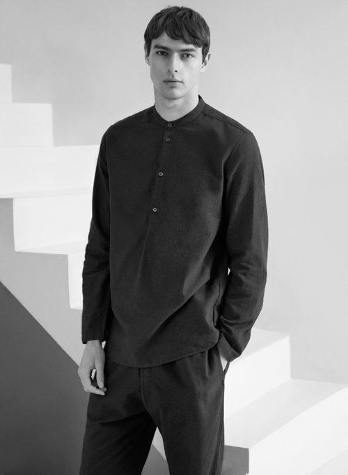 Camisa de manga larga de la línea Leisure Wear de H&M