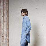 Vestido camisero vaquero de la colección 'La evolución del denim' de invierno 2015 de G-Star