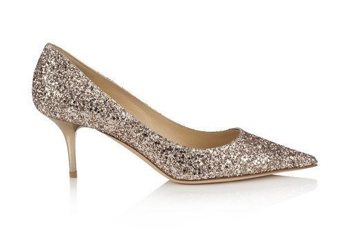 Zapato de salón glitter de la línea Let it Shine de la colección Cruise 2015 de Jimmy Choo