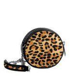 Bolso redondo con print animal de la colección cápsula de Nicky Hilton