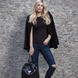 Nicky Hilton con bolso Roosevelt Backpack para Linea Pelle