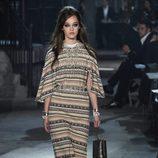 Vestido étnico de la colección 'Métiers d'Art Paris à Rome 2015/2016' de Chanel