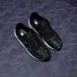Zapatillas deportivas con estampado camuflaje en azul oscuro de la línea PUMA X BAPE