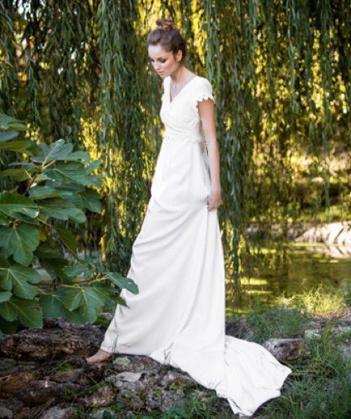 Vestido novia Sena de David Christian