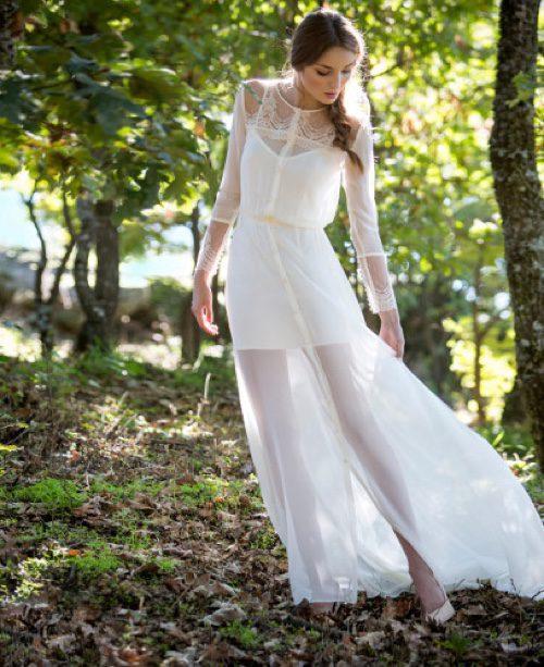 Vestido novia San Rema de David Christian