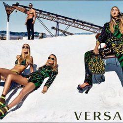 Campaña Versace para la colección primavera/verano 2016
