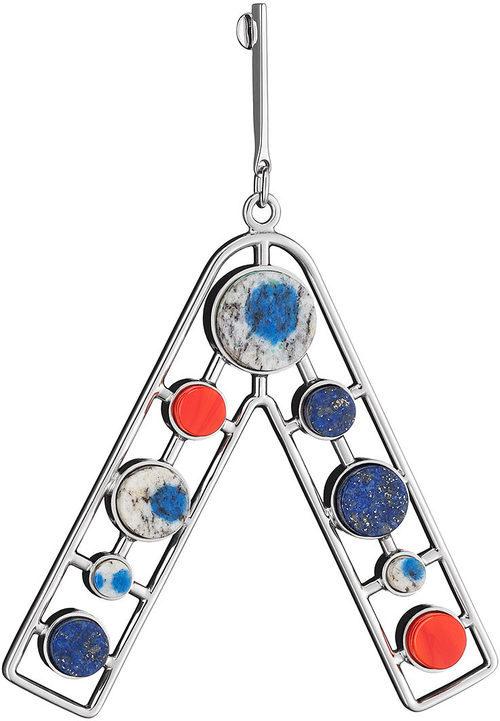 Pendiente triangular con piedras de color de la línea 'Dior Paradise'