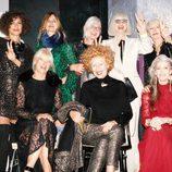 Mujeres de la campaña 'The Dinner Party' de &Other Stories temporada otoño/invierno 2015