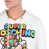 Sudadera blanca con Bowser de 'Super Moschino' AW 15