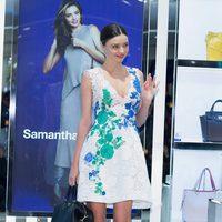 Miranda Kerr en la presentación de Samantha Thavasa en Tokyo (Japón)