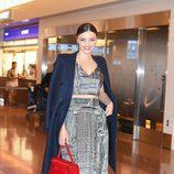 Miranda Kerr a su llegada a Tokyo (Japón)