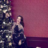 Melissa McCarthy con jersei y leggins para 'Seven7'