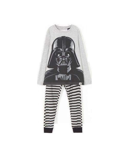 Pijama con personaje Darth Vader y leggins a rayas de 'Star Wars' para Lefties