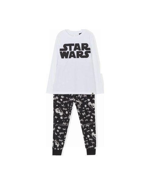 Pijama con logo y leggins de 'Star Wars' para Lefties