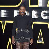 Lupita Nyongo en Londres para la premier de 'Star Wars'