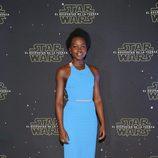 Lupita Nyongo en México para la premier de 'Star Wars'