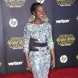 Lupita Nyongo en Hollywood para la premier de 'Star Wars'