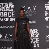 Lupita Nyongo en Nueva York para la exposición 'Force 4 Fashion' de 'Star Wars'