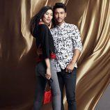 Estampados vegetales en negro para la línea 'We are in love' de la colección H&M para el año nuevo chino