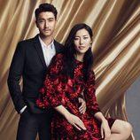 Estampados florales en tonos negros y tejidos suaves para la línea 'We are in love' de la colección H&M para el año nuevo chino