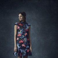 Vestido midi con detalles florales de la colección Pre-Fall 2016 de Erdem