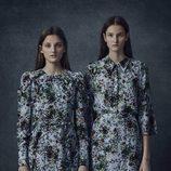 Vestidos de vuelo con estampado floral de la colección Pre-Fall 2016 de Erdem
