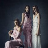 Vestidos vaporosos con topos de la colección Pre-Fall 2016 de Erdem