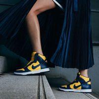 Zapatillas deportivas en amarillo con logo Nike de la colaboración 'NikeLab x Sacai' para 2016