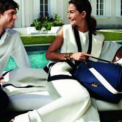 Combinación de trajes en blanco y negro de Carolina Herrera