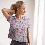 Camiseta de estampado floral de la línea Rosie for Autograph
