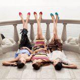 Vestidos vaporosos y coloridos de Salvatore Ferragamo para la colección 'The Splendor of Life' para primavera/verano 2016