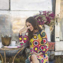 Lucía Rivera Romero vestido de crochet de la primavera/verano 2016 de Highly Preppy