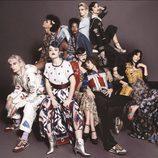Estética circense con maquillaje gótico y recogidos años 20 de Marc Jacobs