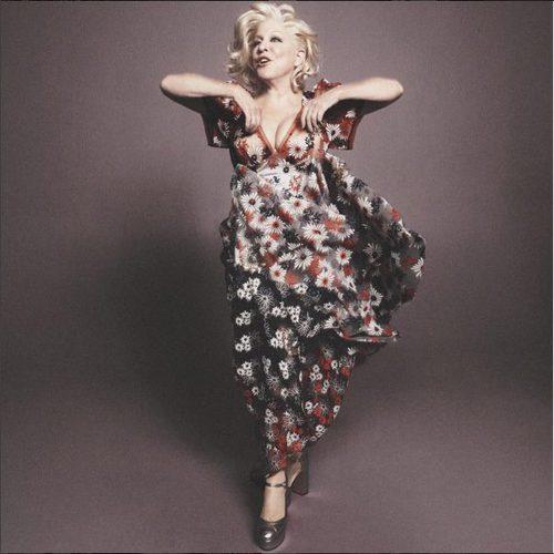 Vestido largo con estampado floral de Marc Jacobs