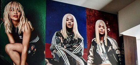 Modelos de calzado de Rita Ora para la nueva campaña para Adidas