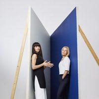 Natalia Barbieri y Jennifer Portman con modelos de la colección cápsula de L. K. Bennet y Bionda Casta