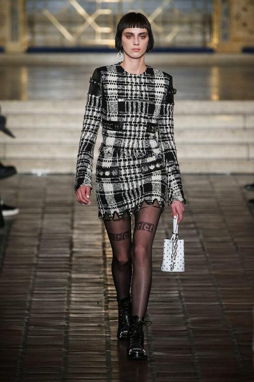 Conjunto estampado de Alexander Wang en la New York Fashion Week para otoño/invierno 2016/2017