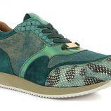 Sneaker verde de Alma en Pena