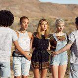 Conjuntos étninos, denim y ganchillo de H&M para el festival Coachella Valley