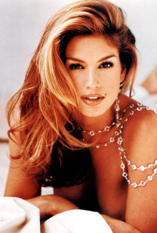 Cindy Crawford posando desnuda en exclusiva en Hollywood