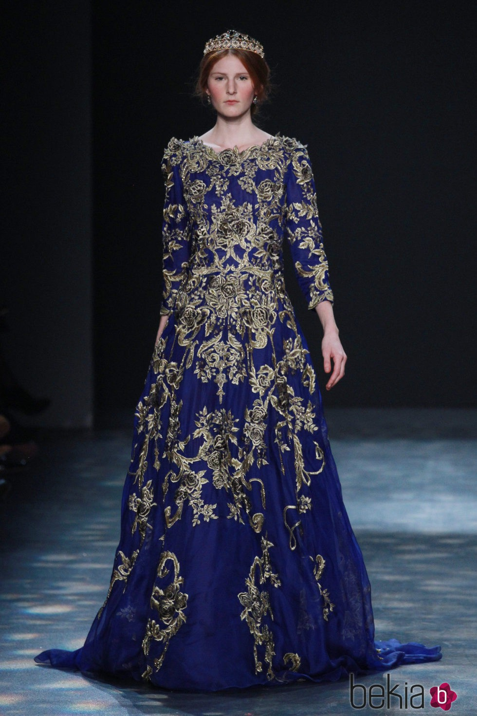 Vestidos azules 2016