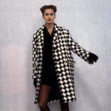 Cindy Crawford durante el desfile de Isaac Mizrahi en 1994 Nueva York