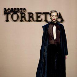 Conjunto masculino de Roberto Torretta en la FW de Madrid para otoño/invierno 2016/2017
