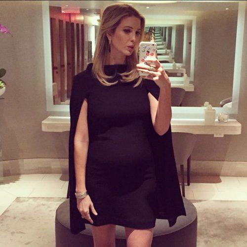 Ivanka Trump con vestido de Valentino