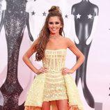 Cheryl Fernandez-Versini en la alfombra roja de los Premios Brit 2016