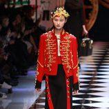 Estética circense de Dolce&Gabbana en la FW de Milán para otoño/invierno 2016/2017