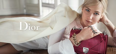 Jennifer Lawrence en la nueva campaña primavera/verano 2016 de Dior