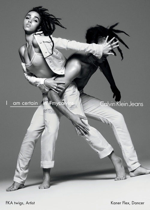 FKA twigs  y Calvin Klein para la nueva campaña primavera/verano 2016
